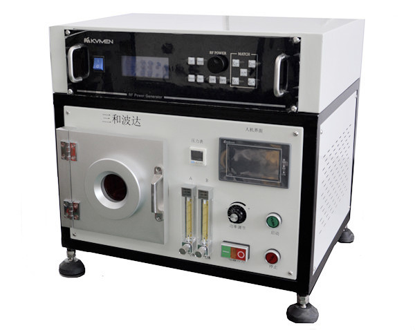 PT-5ST desktop 5L stainless steel RF integrated vacuum plasma cleaning machine